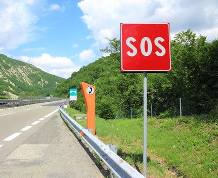Callbox SOS, para Estradas e Rodovias