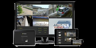 Software de Segurança e Vigilância VMS Sense